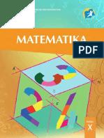 Buku Matematika Kelas X kurikuilum 2013