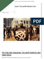 10.03.2014 - Por Trás Das Máscaras_ Um Perfil Histórico Dos Black Blocs
