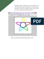 Membuat Gambar Bintang/Bunga dengan Matlab R20091