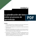 32 Planificacion Tiempo U4