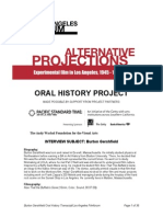 Burton Gershfield Oral History Transcript