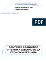 Contexto Economico Interno y Externo de La Economia Peruana-1
