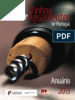 PORTUGAL - VINHOS E AGUARDENTES (ANUÁRIO 2012-2013) [IVV]