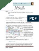 Guia Evolucion Del Latin y Español