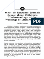 What Do Response Journals Reveal About Childrens Understandings (Pantaleo)