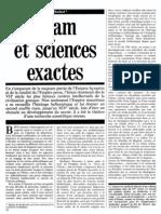 Roshdi Rashed - Islam Et Sciences Exactes