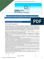 Mabel Meschiany - Psicoterapia, Determinismo Social, Constelaciones Familiares y Estructurales