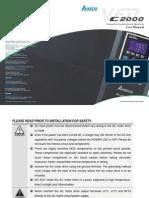 Delta C2000 User Manual
