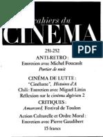 Cahiers Du Cinema 251-252