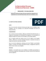 RESOLUCIÓN  N° 05-2014-COEN-PNP