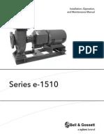 B&G 1510e510-e Manual
