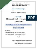 INVESTIGACION BIBLIOGRAFICA  3° COMPETENCIA