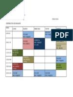 Horarios de Atencion de Iec-115 Ciclo i - 2014