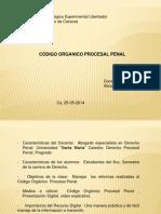 Código Organíco Procesal Penal