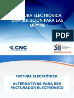 Presentación Benefecios de La Factura Electrónica
