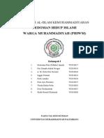 Pedoman Kehidupan Islami Warga Muhammadiyah