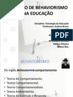 Trabalho de Psicologia Behaviorismo Na Educação Magisterio 2014