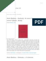 Alain Badiou _ Ladri Di Biblioteche 2