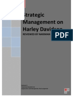 Strategic Management on Harley Davidson