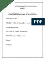 AGROINDUSTRIAL N1A