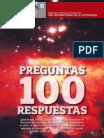 100 Preguntas y respuestas de Astronomía - Año 2009