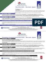 Plan Anual Junio - Agosto 2014 Encuentros a La Puesta Del Sol - Cementerio Británico de Montevideo