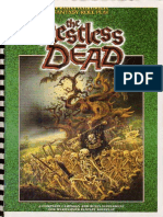 WFRP the Restless Dead