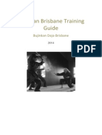 Bujinkan Brisbane Training Guide