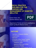 Diabetes Mellitus CPG