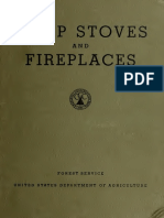 Camp Stoves and Fireplaces 1937