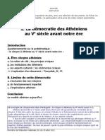 La Democratie Athenienne