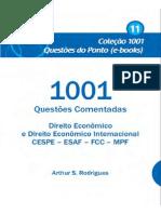 1001 Questoes Direito Economico e Direito Economico Internacional