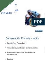 231M001 - Primary Cementing, Spanish 07