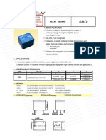 Datasheet Relay 12 Volt Songle
