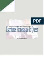 Escrituras Pioneras de Lo Queer Cuadernillo