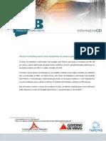 Informativo PIB - Municípios MG 2011