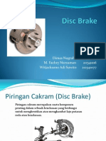 Presentasi Disc Brake