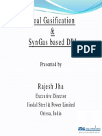 Session4-5 Rajesh_Jha_Coal Gasification & SynGas Based DRI_PPT_5