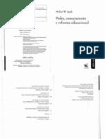 APPLE  Poder, conocimiento y educacional .pdf
