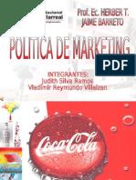 Politicas de Marketing Coca Cola