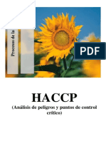 Haccp (Proceso de Tarwi)