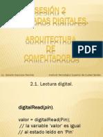 Arquitectura de Computadoras Sesion 2.pdf