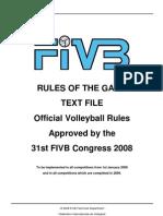 FIVB.2009 2012.VB.rulesOfTheGame.eng.TextfileOnly.2