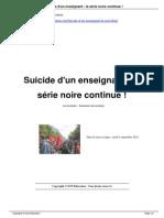 Suicide d Un Enseignant La s Rie a4069