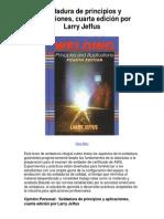 Soldadura de Principios y Aplicaciones Cuarta Edición Por Larry Jeffus - Averigüe Por Qué Me Encanta!