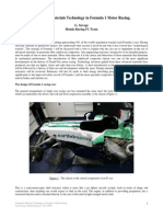 Composite Materials Technology in Formula 1 Motor Racing