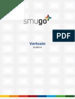 Report Vertcoin 20140601