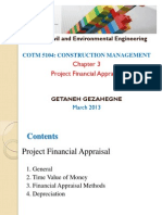 3. Project Financial Appraisal