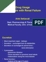 Drug Usage in RF-Arini-Jul09