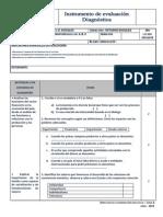 Instrumento Eval Diagnostica1